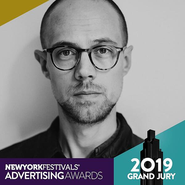 New York Festivals Advertising Awards - BBH Stockholm's Christian Hammar