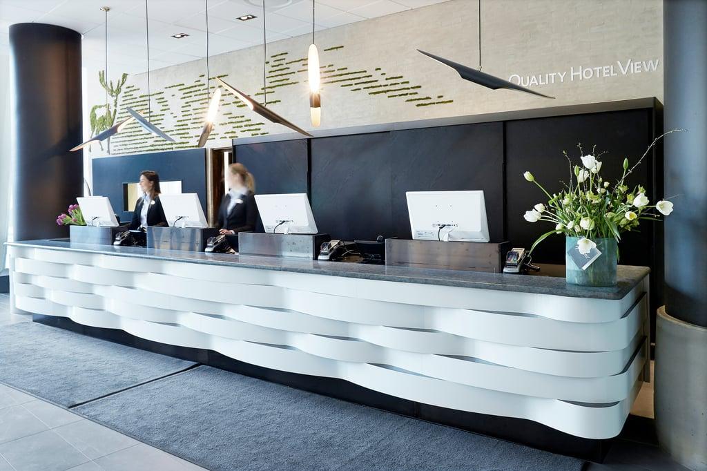 Reception Nordic Choice Hotel